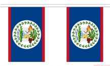 BELIZE BUNTING - 9 METRES 30 FLAGS